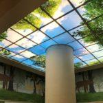 Потолок из полистирола. Фотопечать.